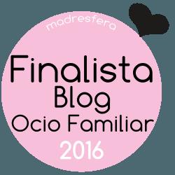 Finalista Ocio en Familia 2016 Madresfera