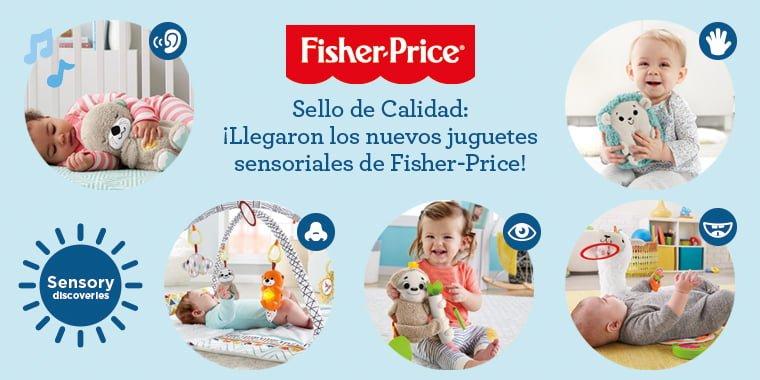 e064c8ec4 Sello de Calidad  ¡Llegaron los nuevos juguetes sensoriales de Fisher-Price!