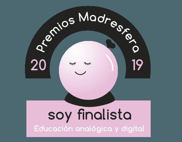 Finalista Premios Madresfera 2019 Educación