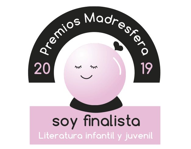 Finalista Premios Madresfera 2019 Literatura infantil y juvenil