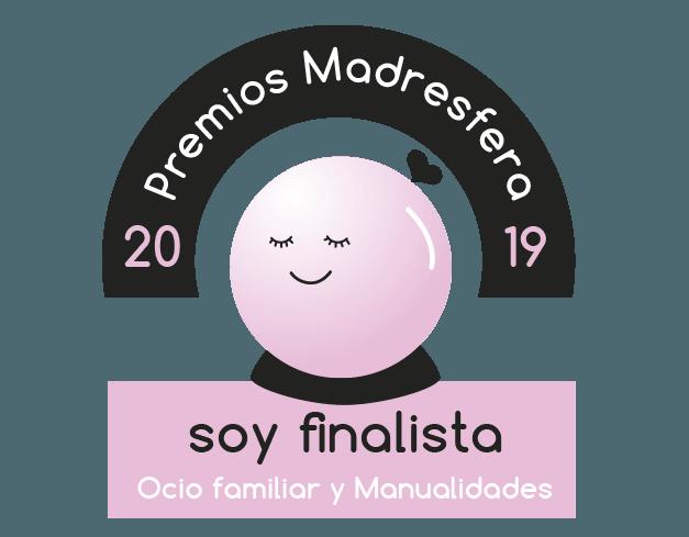 Finalista Premios Madresfera 2019 Ocio familiar y manualidades